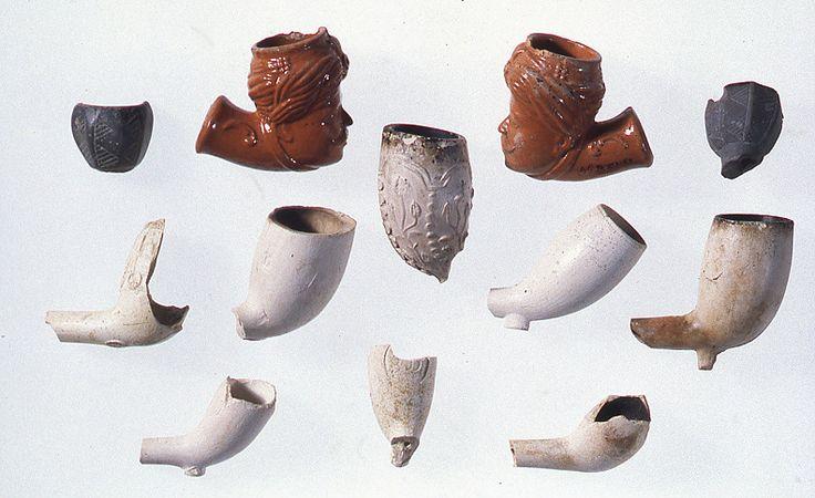 Fourneaux de pipes.Pierre Fauteux, © Musée Marguerite-Bourgeoys
