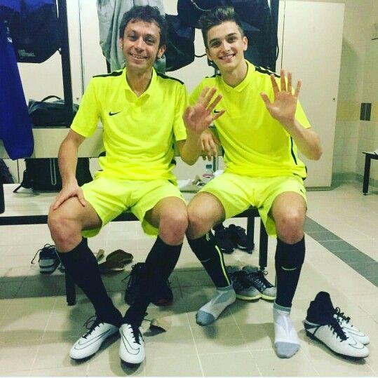 Brothers Vale & Luca Marini