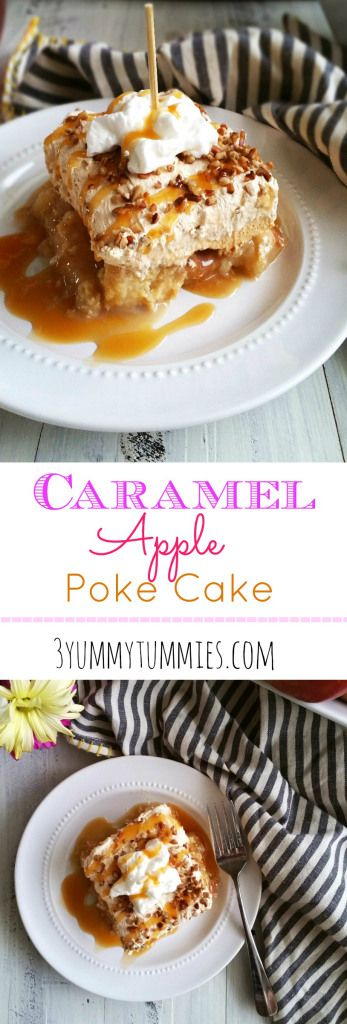 So easy and delicious with a butterscotch pudding topping!