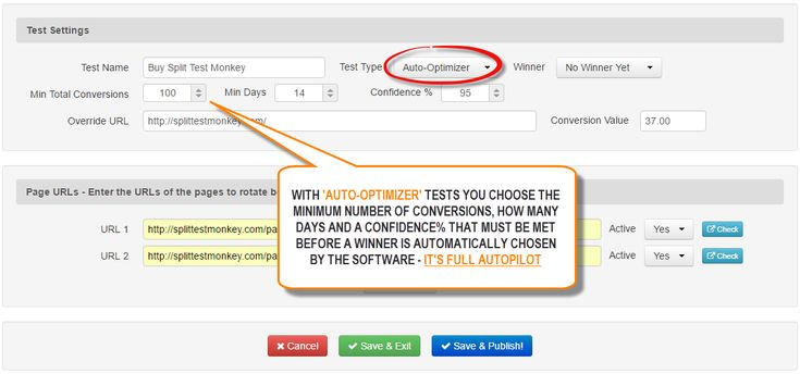 Tự động tối ưu hóa Chia Tests