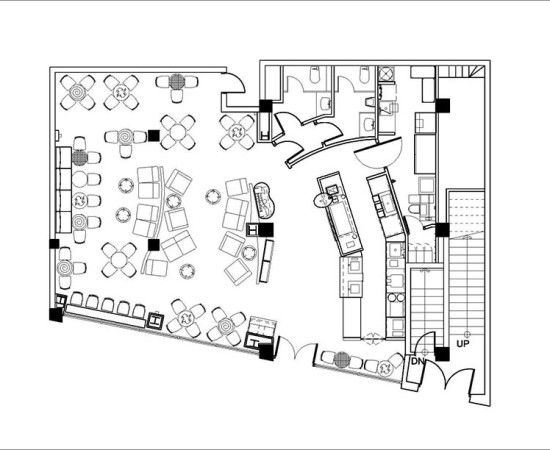 Typical starbucks floor plan google search plan for Typical office floor plan