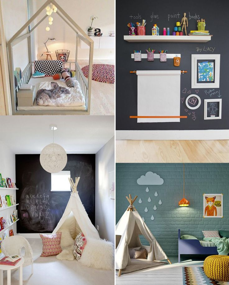 Simple Playroom Toddler Rooms