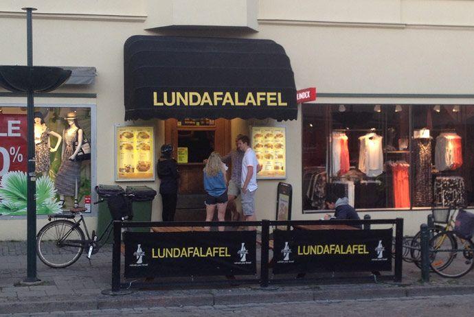 Lundafalafel is the locals' favourite falafel place