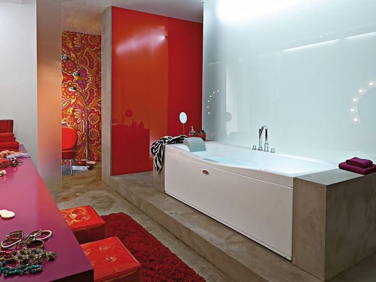 24 fantastiche immagini su vasche da bagno su pinterest - Vasche da bagno immagini ...