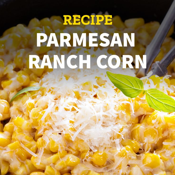 Try this #parmesan #ranch#corn with your #taquitos