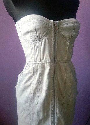 Kup mój przedmiot na #vintedpl http://www.vinted.pl/damska-odziez/krotkie-sukienki/17070944-jeansowa-sukienka-gorsetowa-z-zipem