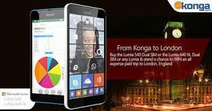Nigeria News which to inform you all that things are getting hotter this season! As Konga and Nokia Lumia has something in stock for all