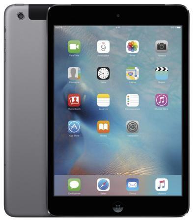 Apple Apple iPad mini 2 32Gb Wi-Fi + Cellular  — 28490 руб. —  Планшет Apple iPad mini c дисплеем Retina 32Gb Wi-Fi + Cellular обзавелся сверхчетким дисплеем Retina, новым 64-битным процессором A7, передовыми беспроводными технологиями и мощными приложениями, встроенными в переосмысленную iOS 9. И остался мини. Его толщина – всего 0,74 см, а вес – чуть больше трехсот грамм. Теперь в ультракомпактном корпусе, который легко удержать одной рукой, еще больше возможностей. В четыре раза больше…