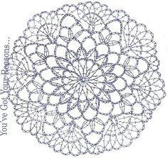 patrones mandalas crochet - Buscar con Google