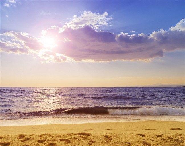 Paradisos Beach In Neos Marmaras, Chalkidiki, Greece