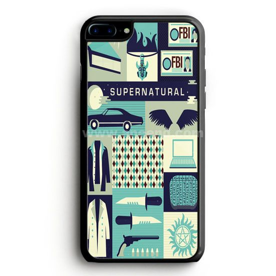 Supernatural Cartoon iPhone 7 Plus Case   aneend