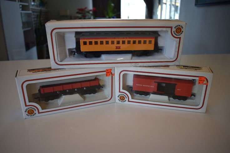BACHMANN Lot of 3 HO SCALE OLD TIME UNION PACIFIC CARS-UNRUN W BOXES   Toys & Hobbies, Model Railroads & Trains, HO Scale   eBay!