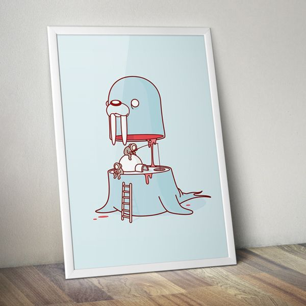 Blubber Brothers on Behance by Burnt Toast
