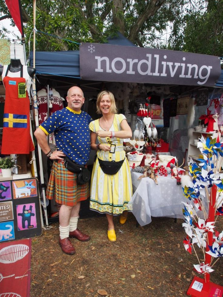 The marvelous Madeleine & Maurice from Nord Living helping spread the reflector love @ their beautiful shop at this years Scandinavian Christmas Bazaar. Head to the Swedish Church in Toorak Melbourne to enjoy the last day of many Scandinavian delights from 11am to 4pm. Otherwise visit the beautiful Nord Living store in Clarendon St. South Melbourne any other day of the week. Thanks guys :)
