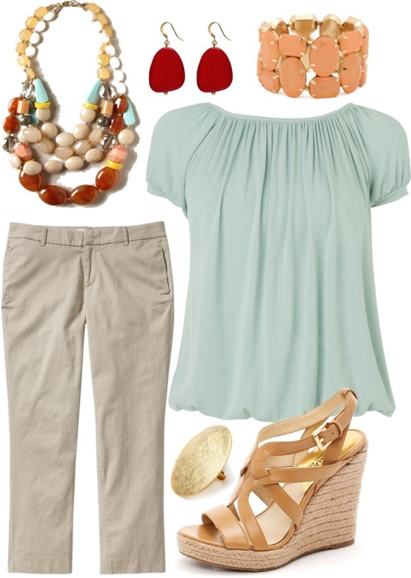 work look - summer, created by kimberlyhallmsw on Polyvore: Nice Outfit, Pumps Poppies, Clothing Shoes Jewelry Etc, Summer Outfit, Outfit Ideas, Color Combos, Cute Outfits, Dresses, Clothing Fashion