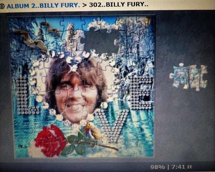 Billy Fury Jigsaw by Maureen Spurr - No.302