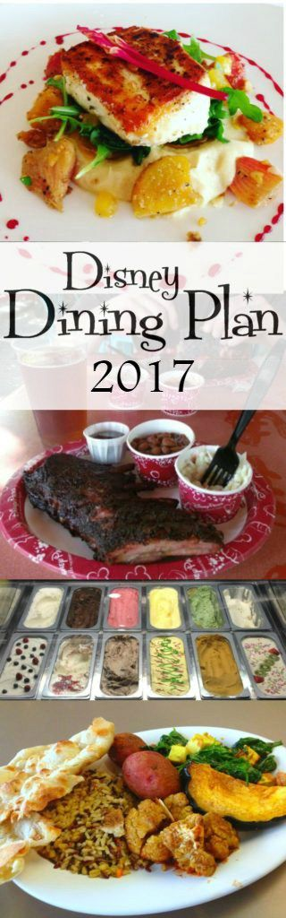 Disney Dining Plan 101, Updated for 2017! Basics of the plans including cost, what is included, and analysis of it they are worth it!