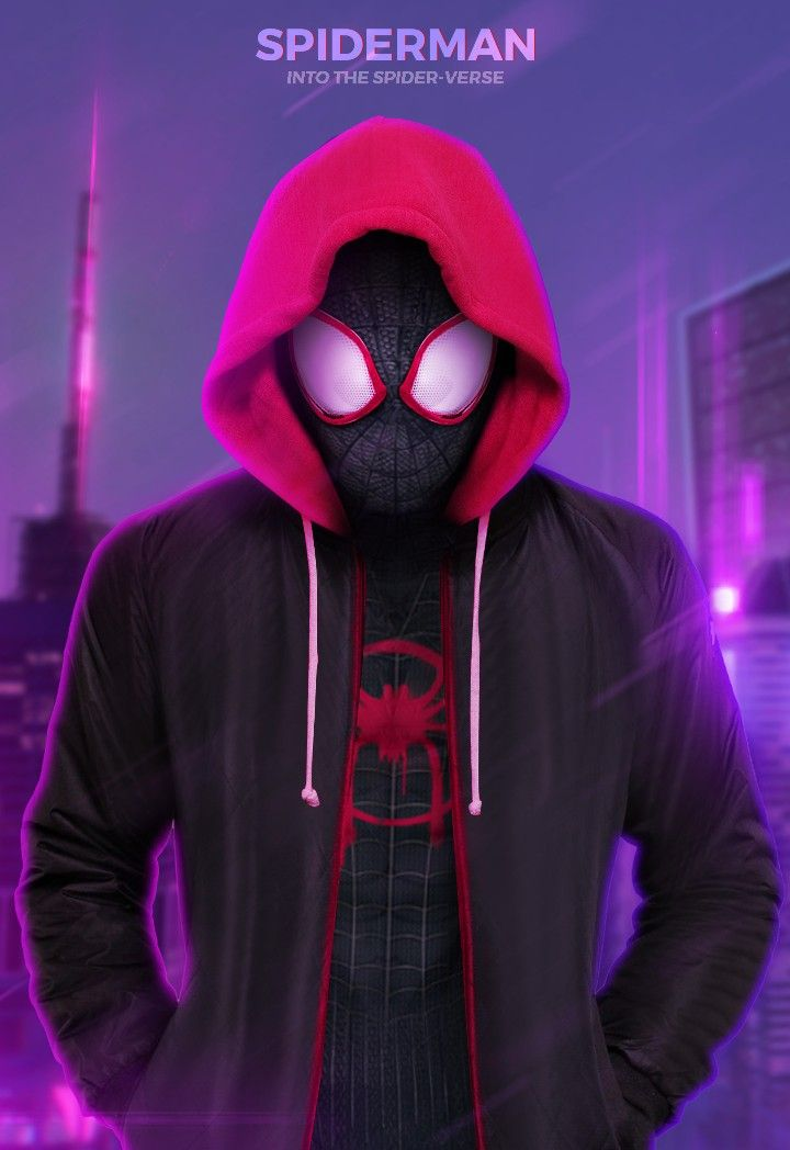 SpiderMan, Into the SpiderVerse Miles morales