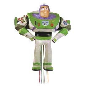 "Buzz Lightyear Pull Pinata 17""w x 19""h"