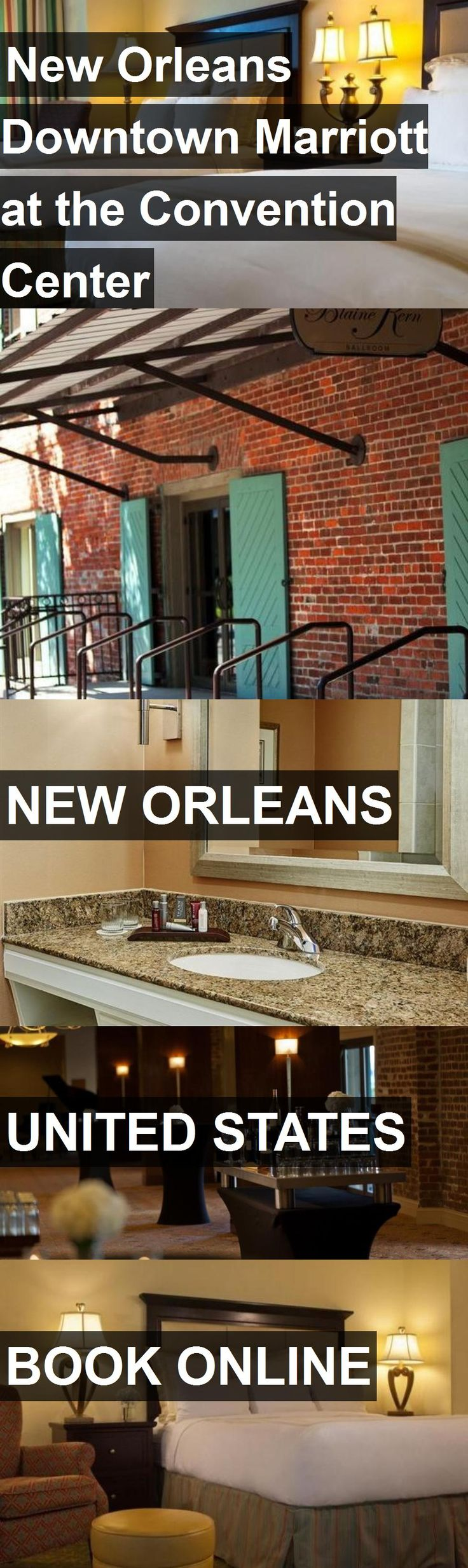 Hotel New Orleans Downtown Marriott at the Convention Center in New Orleans, United States. For more information, photos, reviews and best prices please follow the link. #UnitedStates #NewOrleans #NewOrleansDowntownMarriottattheConventionCenter #hotel #travel #vacation