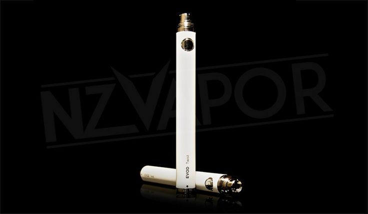 EVOD TWIST 1100mah E-CIGARETTE BATTERY The most popular and longest lasting battery in our EVOD range. This battery is designed to keep a powerful output going for as long as possible. Suitable for heavy vapers.