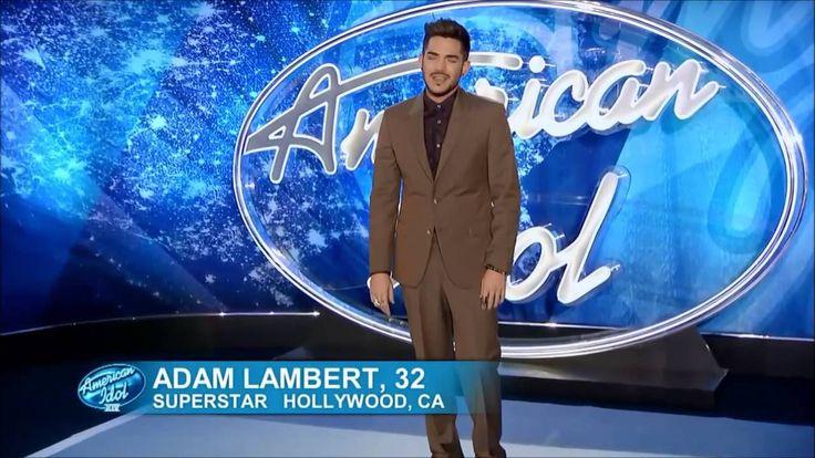 Adam Lambert - Recreates Original Audition - American Idol 2015