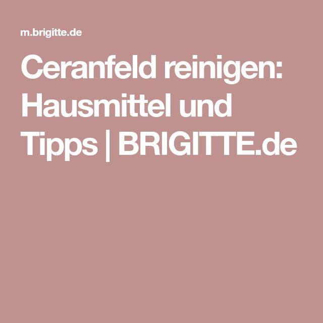Die besten 25+ Ceranfeld reinigen Ideen auf Pinterest Ceranfeld - k che putzen tipps