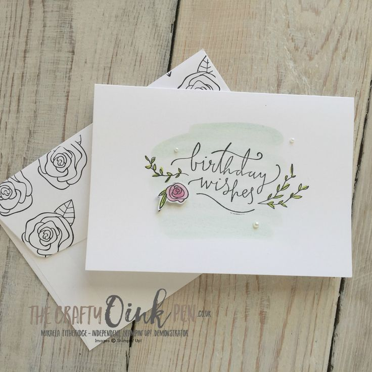 Quick and easy Stamping on the Happiest of Days with Mikaela Titheridge, The Crafty oINK Pen, UK Stampin' Up Demonstrator, Cambridgeshire, UK. Note card holder with note card and envelopes. Supplies available through my online store 24/7