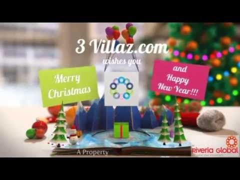 Merry Christmas 2014 Happy New Year 2015 | Riveria Global | 3Villaz