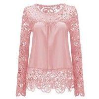 A Blusa de Renda Charlotte está disponível em várias cores e tamanhos com precinho especial. Aproveite!