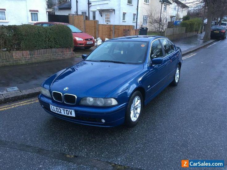 2002 BMW 525D SE AUTO BLUE #bmw #525dseauto #forsale #unitedkingdom