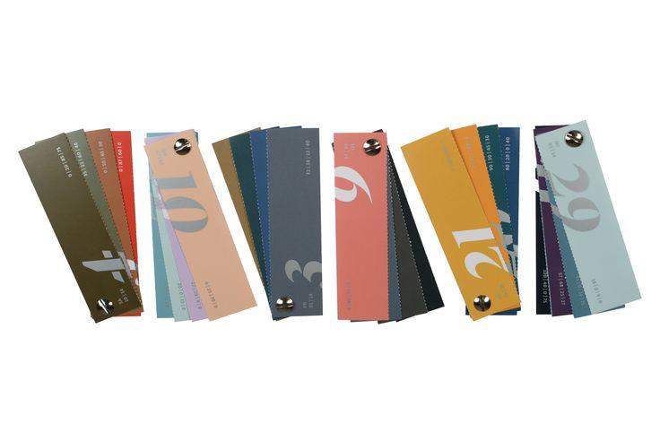 Aus dem C|M|Y|K-Farbfächerkalender kann man sich eigene Farbfächer zusammenstellen!