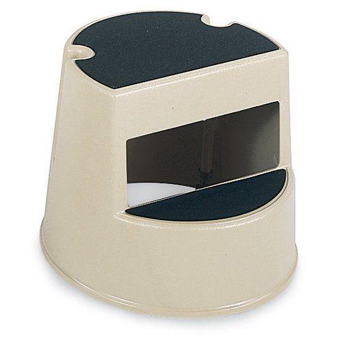 rubbermaid plastic step stool u2013 16x13u2033 u2013 beige diy
