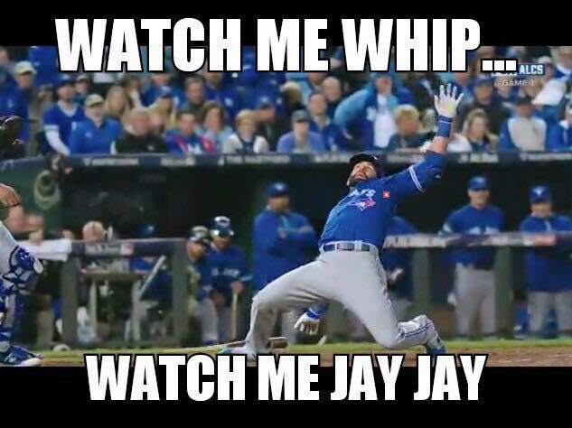 2015 Kansas City Royals Meme with the Blue Jays