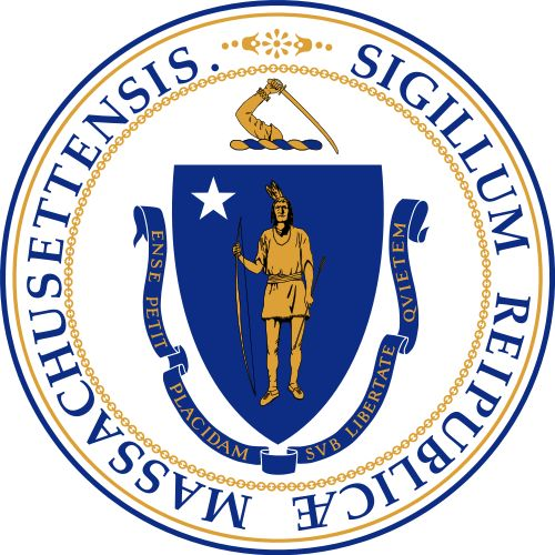 The seal of Massachusetts.