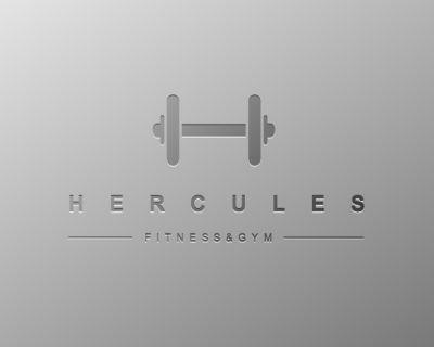 Hercules Fitness & Gym   Logo Design Gallery Inspiration   LogoMix