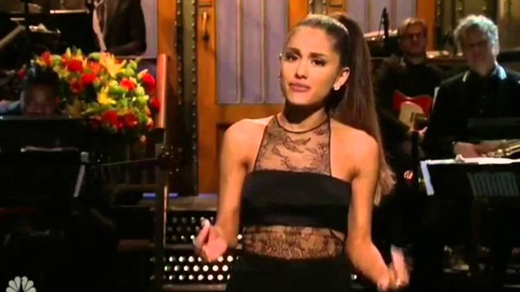 Ariana Grande Saturday Night Live 2016 Opening