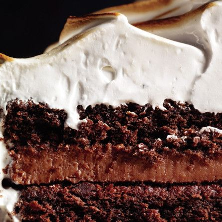 Devil's Food Cake with Black Pepper Boiled Icing Recipe