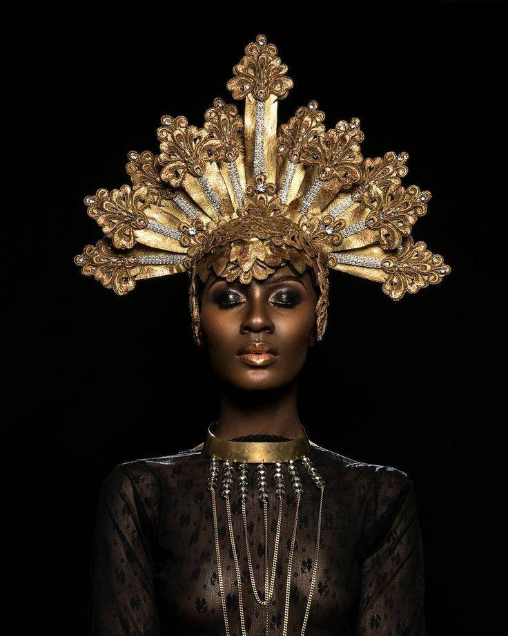 "Photographer Oye Diran captures the royalty of melanin in ""Black Monarch"" photo series - AFROPUNK"