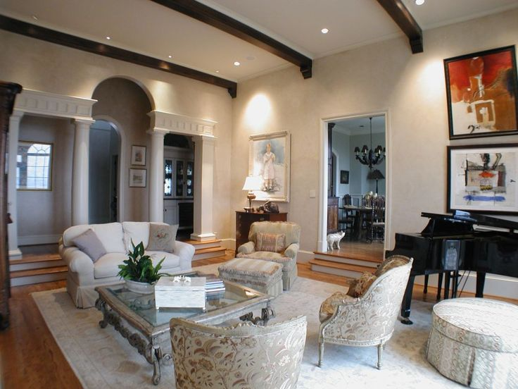 Traditional Interior Design Ideas   @ · Elegant Living RoomEclectic ...