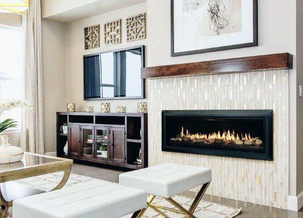 Top 60 Best Linear Fireplace Ideas Modern Home Interiors Linear Fireplace Vented Gas Fireplace Modern Fireplace
