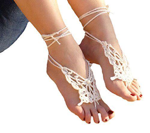 Crochet Barefoot Sandals for Summer: 10 Free Patterns
