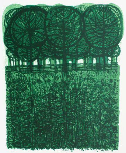Sussex Spinney  (No. 2) 21/50 by Robert Tavener