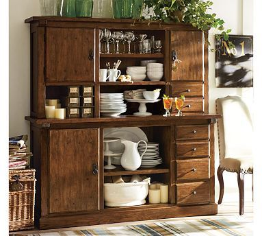 Sawyer Buffet & Hutch #potterybarn