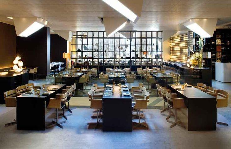 40 best bars images on pinterest restaurant interiors for Roca bar barcelona