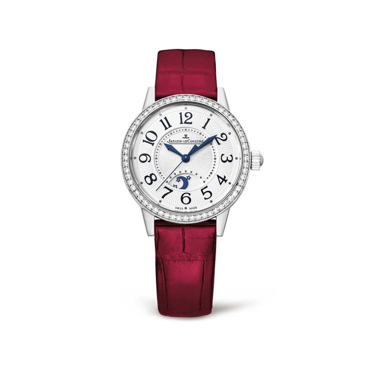 Feminine and delicate with a 29 mm diameter case, the Jaeger-LeCoultre Rendez-Vous Night & Day stainless steel model is designed to flatter the slenderest of wrists.