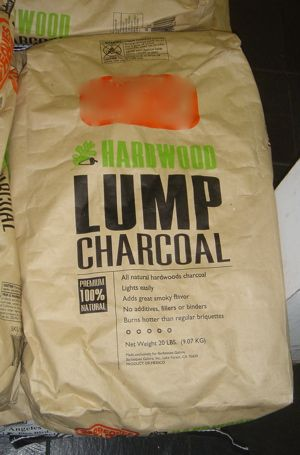 Lump Charcoal! Best one to use!