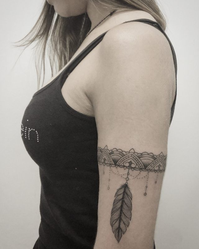 tribal vracelet tattoo