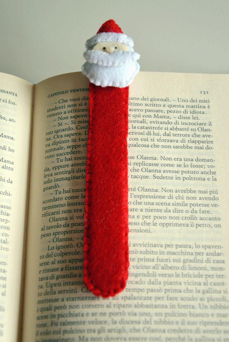 #santaclaus #christmas #bookmark #handmadecreation #diy #christmasiscoming #twomonths