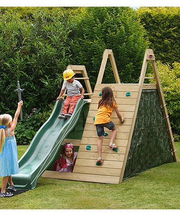 Your little soldiers will have hours of outdoor fun and games with this climbing frame. Children will enjoy hours of outdoor play